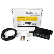 StarTech® Mountable Rugged Industrial 7 Port USB Hub