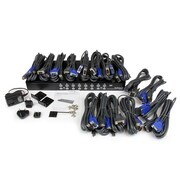 StarTech 16 Port 1U Rackmount USB KVM Switch Kit with OSD and Cables