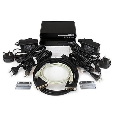 StarTech ® Extenseur de console KVM USB DVI par câble cat. 5e/6 avec signal vidéo non compressé de 1920 x 1200, 100 m (330 pi)