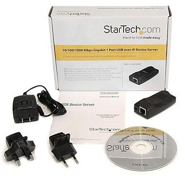 StarTech ® Serveur de périphériques USB sur IP Gigabit 10/100/1000 Mb/s 1 port