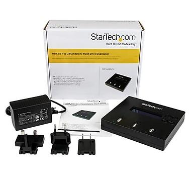 StarTech.com 1:2 Standalone USB 2.0 Flash Drive Duplicator and Eraser, Flash Drive Copier