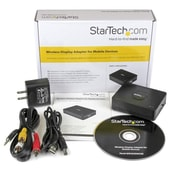 StarTech® Wireless Display Adapter with Miracast / WiDi for Mobile Devices, HDMI Wireless Receiver