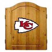 Imperial NFL Team Logo Complete Dart Cabinet Set; Kansas City Chiefs