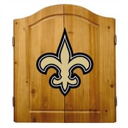 Imperial NFL Team Logo Complete Dart Cabinet Set; New Orleans Saints