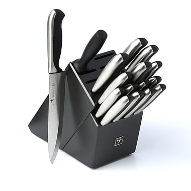 JA Henkels International Fine Edge Synergy 17 Piece Knife Block Set