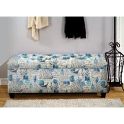 The Sole Secret Upholstered Storage Bench; Small