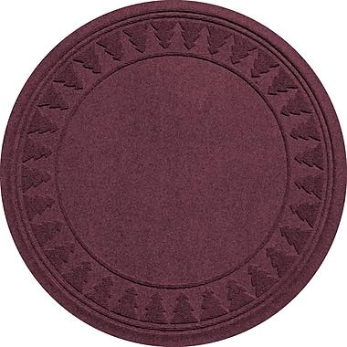 Bungalow Flooring Aqua Shield Tree Skirt Doormat; Bordeaux