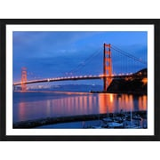 PTM Images San Francisco at Dawn Gicl e Framed Photographic Print