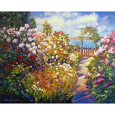 PTM Images Floral Painting Print on Wrapped Canvas