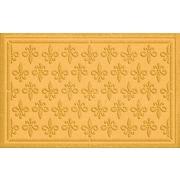 Bungalow Flooring Aqua Shield Fleur Field Doormat; Yellow