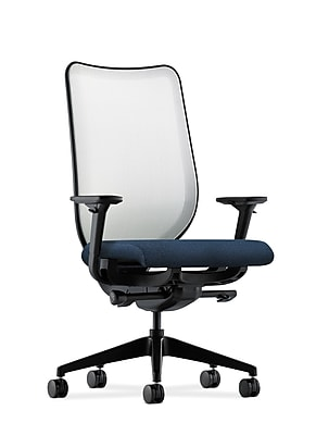 HON® Nucleus® Knit Mesh Back Office/Computer Chair, Adjustable Arms, Confetti Blue