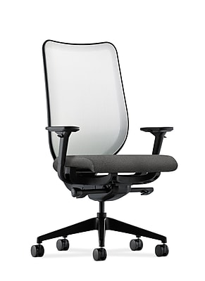 HON® Nucleus® Knit Mesh Back Office/Computer Chair, Adjustable Arms, Confetti Taupe Fabric