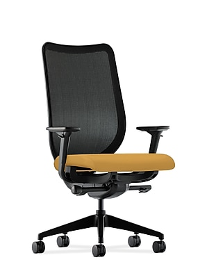 HON® Nucleus® Knit Mesh Back Office/Computer Chair, Mustard