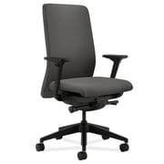 HON Nucleus Fabric Computer and Desk Office Chair, Adjustable Arms, Gray (HONN104AB12)