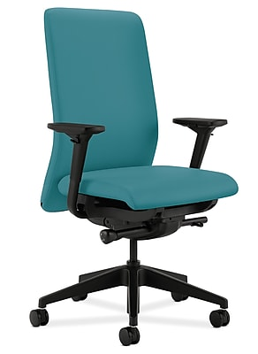 HON® HONN104CU96 Nucleus® Fabric Office Chair with Adjustable Arms, Glacier