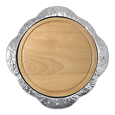 Mariposa Sueno Round Maple Cheese Board