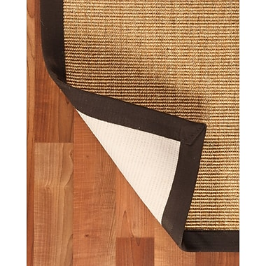 Natural Area Rugs Sisal Montreal Beige Area Rug; Rectangle 9' x 12'