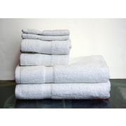 Espalma Deluxe 6 Piece Towel Set; White