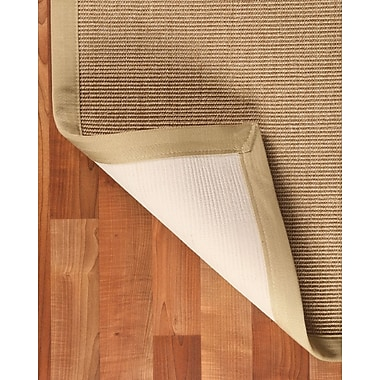Natural Area Rugs Sisal Temperley Beige Area Rug; Rectangle 6' x 9'