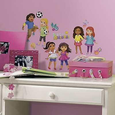 Room Mates Popular Characters Dora and Friends Wall Decal WYF078277421855
