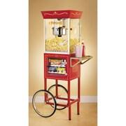 Nostalgia Electrics Old Fashioned Movie Time Popcorn Concession Cart