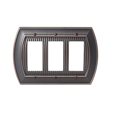 Amerock Allison Rocker Wallplate; Oil-Rubbed Bronze