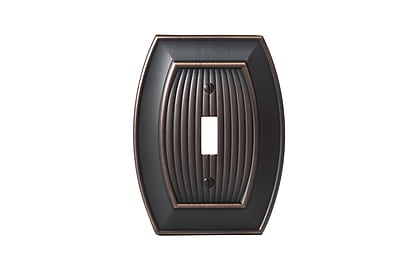 Amerock Allison Toggle Wallplate; Oil-Rubbed Bronze WYF078277421449