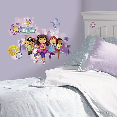 Room Mates Popular Characters Dora and Friends Wall Decal WYF078277421761