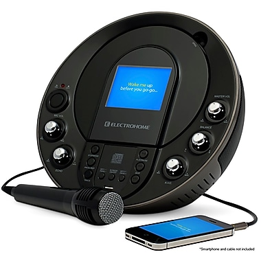 Electrohome Eakar535 Portable Cd+G And Mp3g Karaoke System