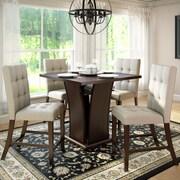 CorLiving Ensembles pour salle à manger Bistro DWP-390-Z1 de 5 pièces, de couleur cappuccino riche