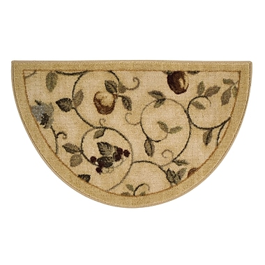 Brumlow Mills Miracle Fruit Wheat Area Rug; Rectangle 1'8'' x 2'10''