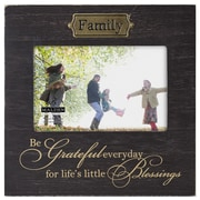 Malden 4'' x 6'' Family Weathered Picture Frame