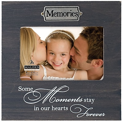 Malden 4'' x 6'' Memories Weathered Picture Frame