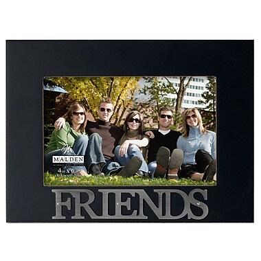 Malden 4'' x 6'' Friends Rustic Nails Picture Frame