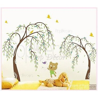 Pop Decors Willow and Bear Wall Decal