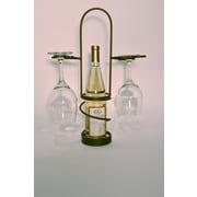 Metrotex Designs Industrial Evolution 1 Bottle Tabletop Wine Rack