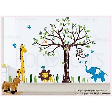 Pop Decors Happy Zoo Wall Decal