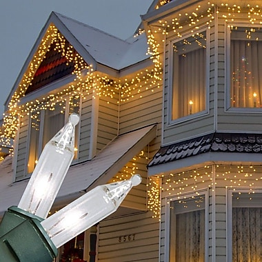 Kringle Traditions Mini Icicle Light; Clear