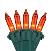 Kringle Traditions 100 Mini Lights; Amber