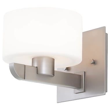 DVI Haida 1-Light Wall Sconce; Satin Nickel