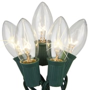 Kringle Traditions C9 Twinkle Light; Clear