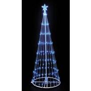 Kringle Traditions 9' LED Lightshow Tree; Blue