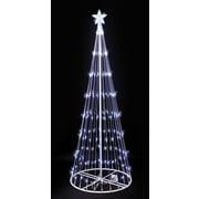 Kringle Traditions 9' LED Lightshow Tree; White