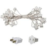 Wintergreen Lighting E17 Intermediate Light Stringer; White