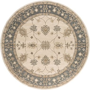Artistic Weavers Middleton Beige Willow Area Rug; Round 6'