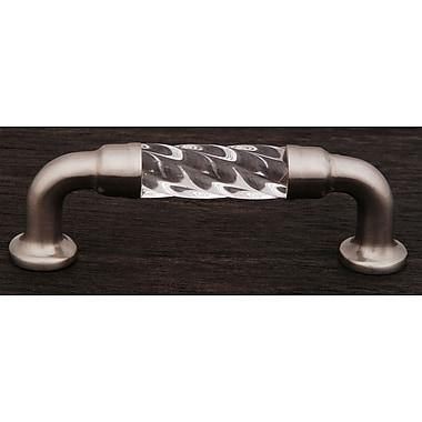 Rk International CP Series 3'' Center Bar Pull; Satin Nickel (Pewter)