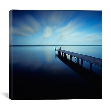 iCanvas Muelle Azul Crop by Moises levy Photographic Print on Canvas; 18'' H x 18'' W x 0.75'' D