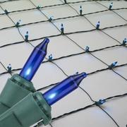 Kringle Traditions Mini Net Light; Blue