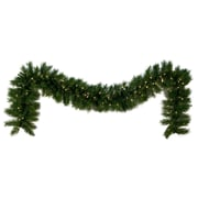 Kringle Traditions Dunhill Fir Prelit LED Holiday Garland