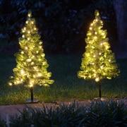 Kringle Traditions Winchester Fir Prelit 3' Walkway Tree